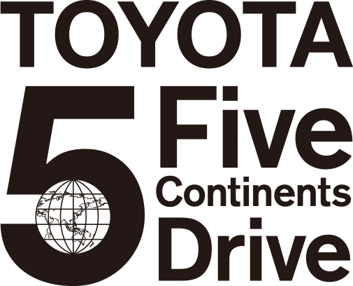 TOYOTA five continents drive